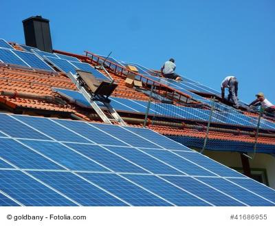 Solaranlage für Einfamilienhaus