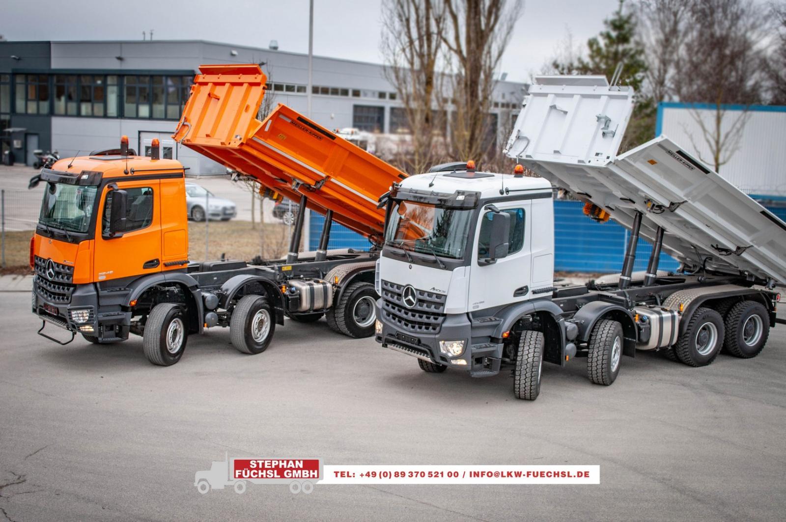 Füchsl GmbH - LKW - Baufahrzeuge - Entsorgungsfahrzeuge