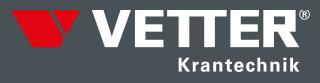 Schwenkkrane von Vetter Krantechnik